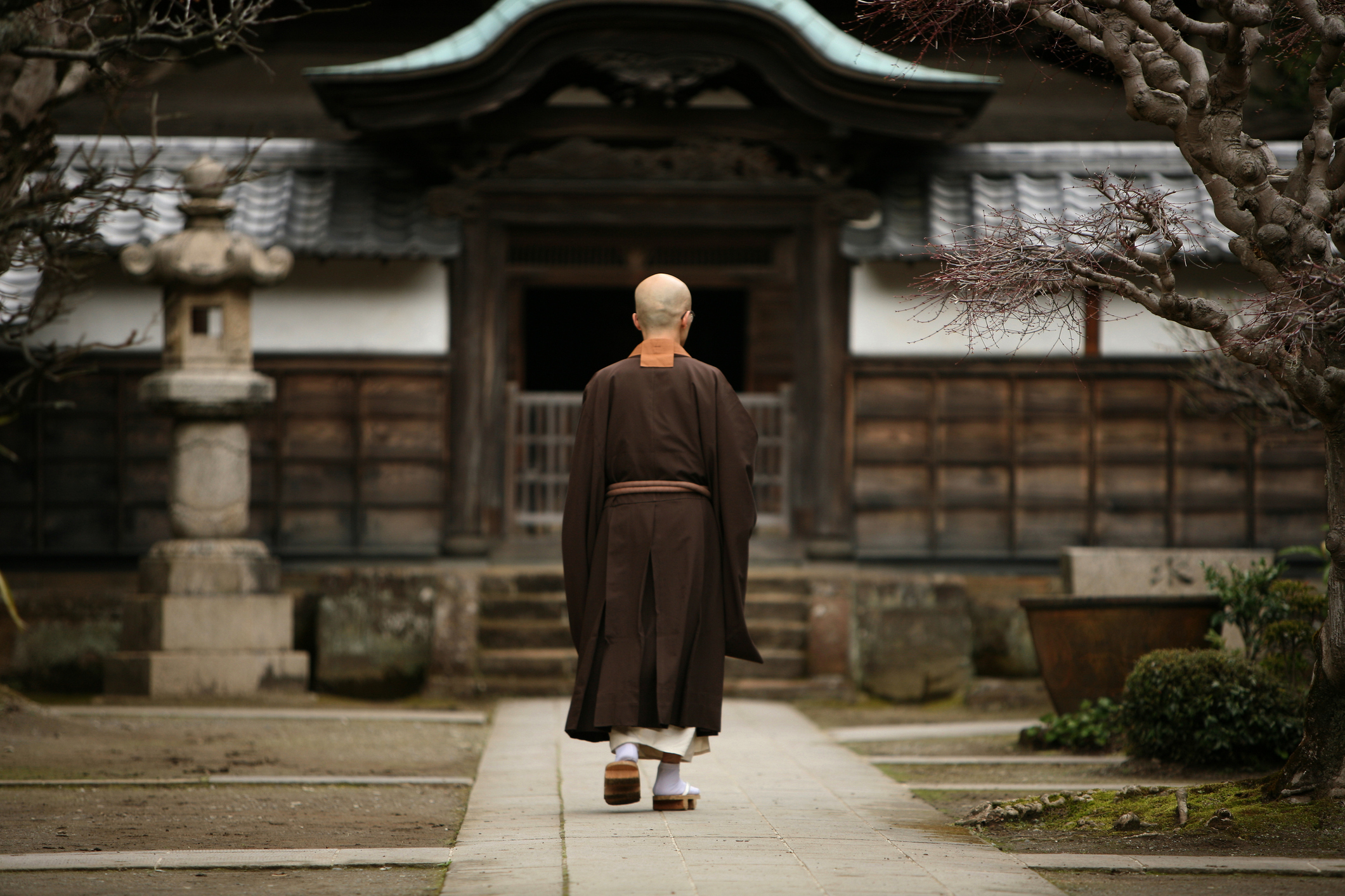 Zen Basic Program Kamakura buddhist monk
