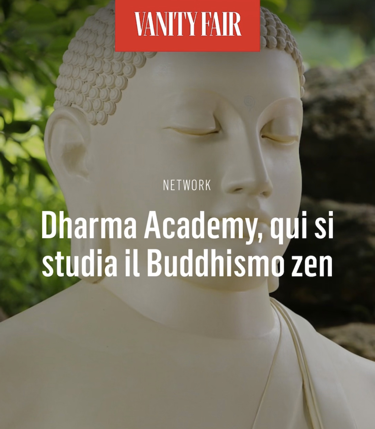 Vanity Fair su Dharma Academy