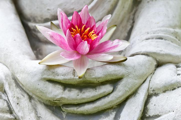 Buddhismo indiano Mani di Buddha